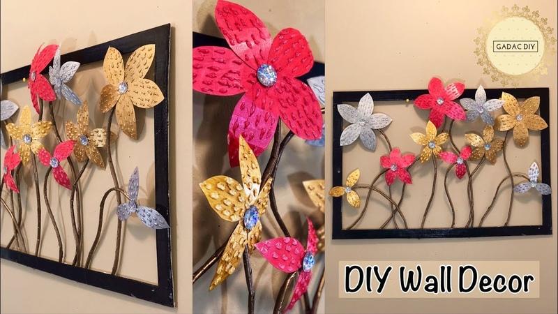 Unique wall hanging  wall hanging craft ideas  gadac diy  paper crafts  craft ideas  diy wall decor