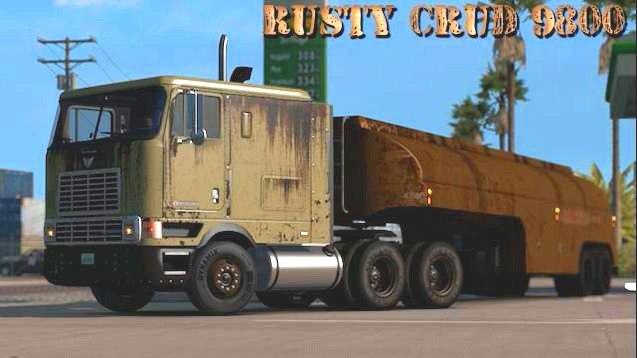 RUSTY CRUD SKIN FOR INTERNATIONAL 9800 1.30.X