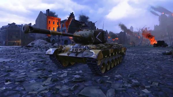 World of Tanks - Сущий дьявол встречайте Deathstalker M46 Patton!