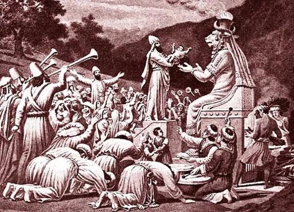 МОЛОХ В МИФОЛОГИИ  ДЕМОН, БОГ УДАЧИ, ИДОЛ И ЖЕРТВОПРИНОШЕНИЕ