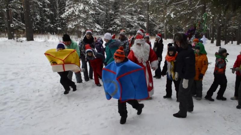 2017-12-24 4 класс Пред Новогодний праздник в лесу Весёлые горки