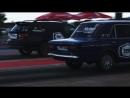 Заезд Орешников Евгения (Toyota Caldina) и Шляйгер Андрей (ВАЗ 2106)