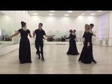 Танец Менуэт (ВГИК, мастерская Грамматикова, 3 курс)