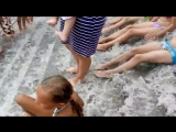 В Одессе после дождя затопило пляж Золотой берег на 16 ст. Б. Фонтана
