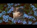 Kai Soft voice for sleep/relax[3D audio]