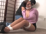 Samantha Grace cleave gagged again
