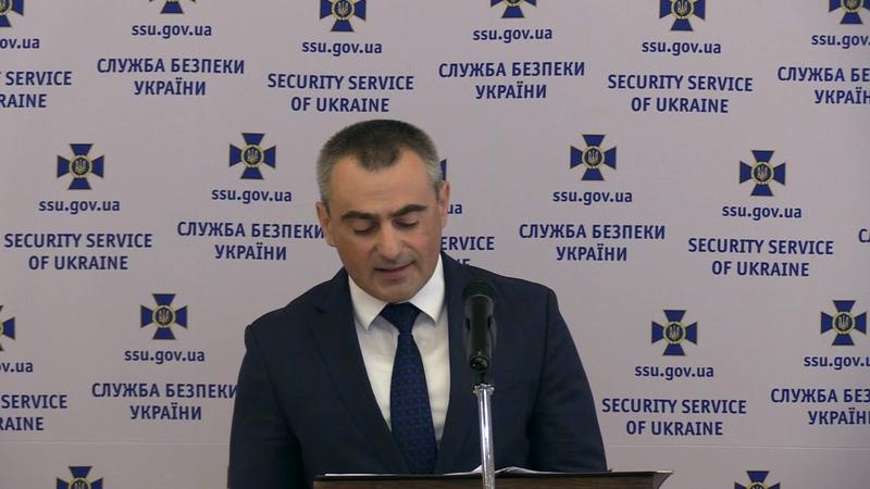 Брифінг заступника Голови СБУ В. Кононенка щодо активізації спецслужб РФ