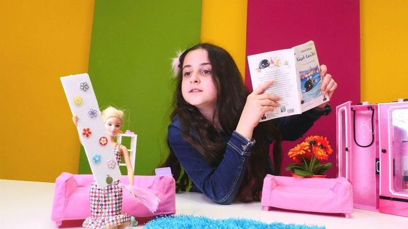Yeni Barbie oyunu. Kitap ayracı yapıyoruz