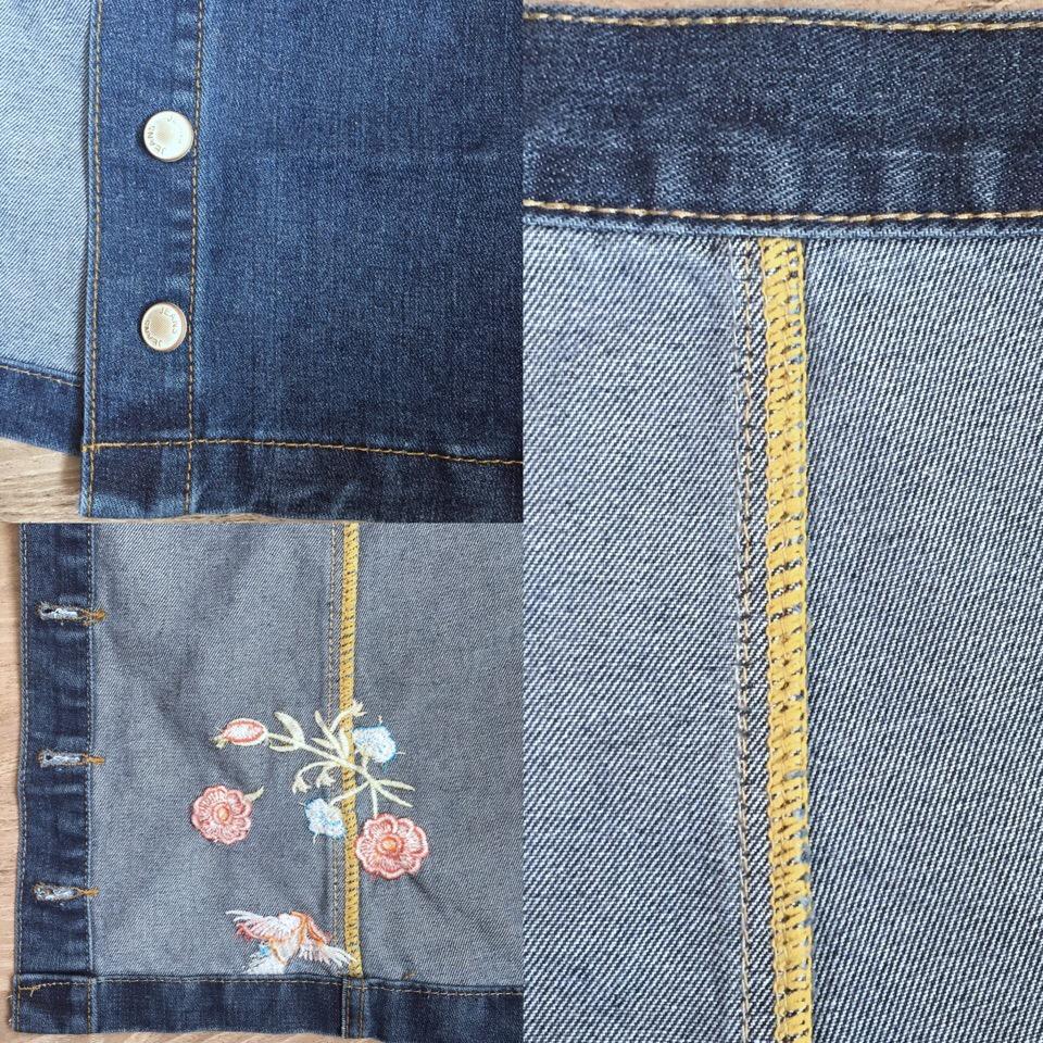 Джинсовая юбка из магазина CTRLCITY_Store