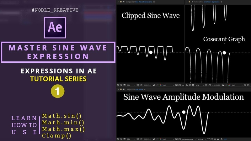 Draw a Sine Wave in an accurate way using Expressions   AE
