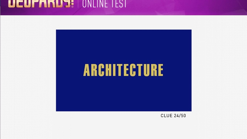 Jeopardy Adult Online Contestant Test March 6 2018