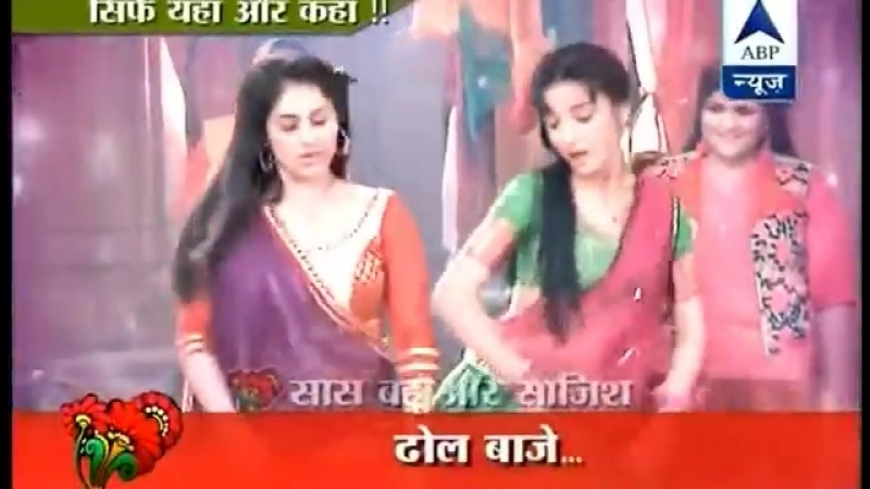 SanayaIrani Rangrasiya On the set of the dancing rivalry Laila with Paro.mp4