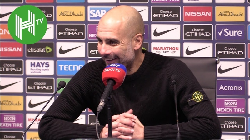 Manchester City 3-1 Everton | Pep Guardiola delighted for Raheem Sterling after tough week