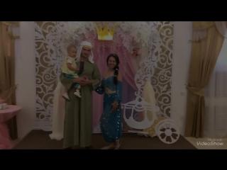 День рождения маленькой принцессы в банкетном зале