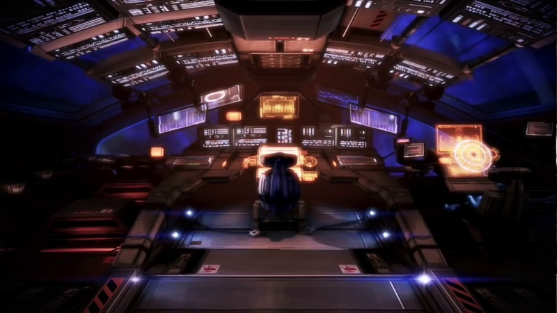 Mass Effect 3 ASMR – Normandy Cockpit Ambience (RelaxationWhite NoiseDreamscape)