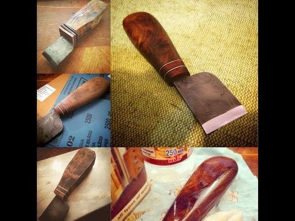 Как сделать прямой шорный нож