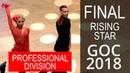 Финал Профессиональный Дивизион Восходящие звезды 2018 Открытый Чемпионат Германии