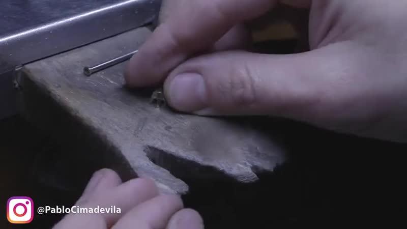 Как превратить две латунные гайки в кольцо с бриллиантом?! rfr ghtdhfnbnm ldt kfneyyst ufqrb d rjkmwj c ,hbkkbfynjv?!