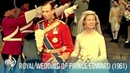 The Royal Wedding of Prince Edward Katharine at York Minster 1961 British Pathé