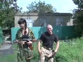 моторола и его жена артисты русс сми Motorola with his wife. Personal video. Slavyansk 2014