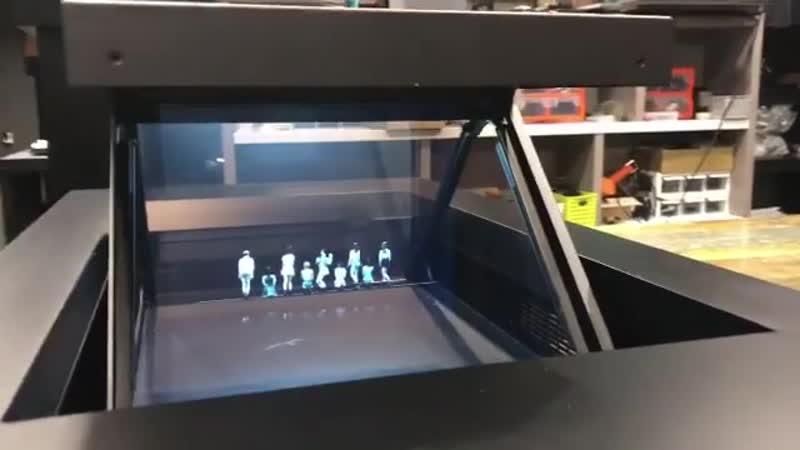 3D Hologram Pyramid robotmoda