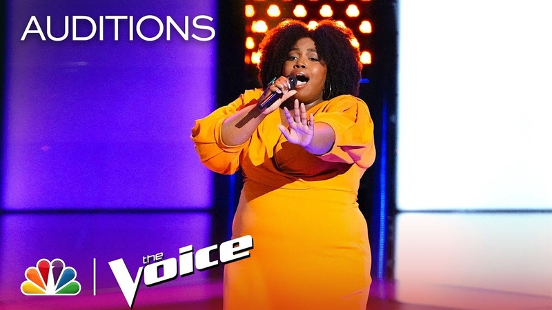 Kymberli Joye Embodies Whitney Houston with Run to You - The Voice 2018 Blind Auditions