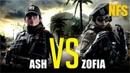 Rainbow six siege - Ash versus Zofia/Сравнение способностей и оружия