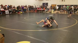Submission Only Tournament Anaconda Choke Finish!