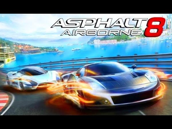 Мультики про Машинки для Детей Игры Гонки Спорткары Суперкары Asphalt 8 Airborne 6