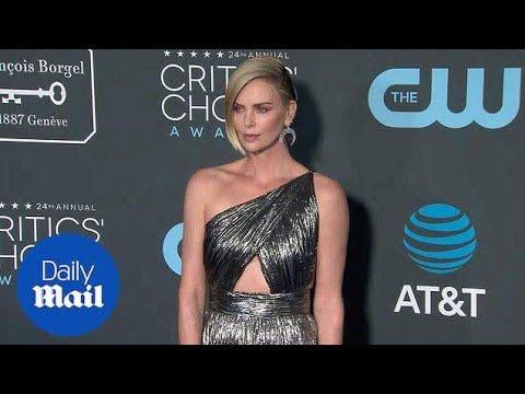 Charlize Theron is magnificently metallic at Critics' Choice