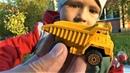 Машинки для детей Строительная техника технопарк распаковка игрушки для мальчиков