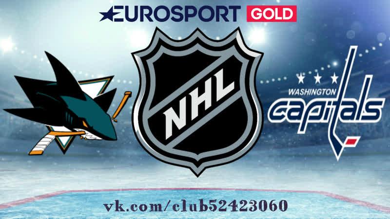 San Jose Sharks vs Washington Capitals | 22.01.2019 | NHL Regular Season 2018-2019 | RU