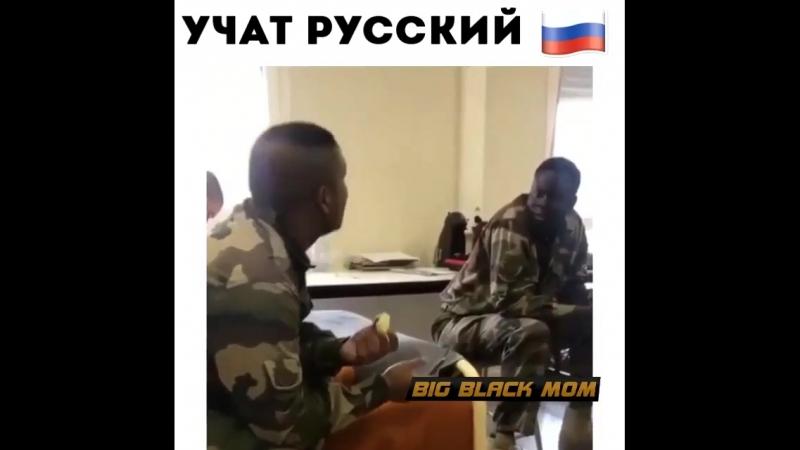 Солдаты США учат Русский язык