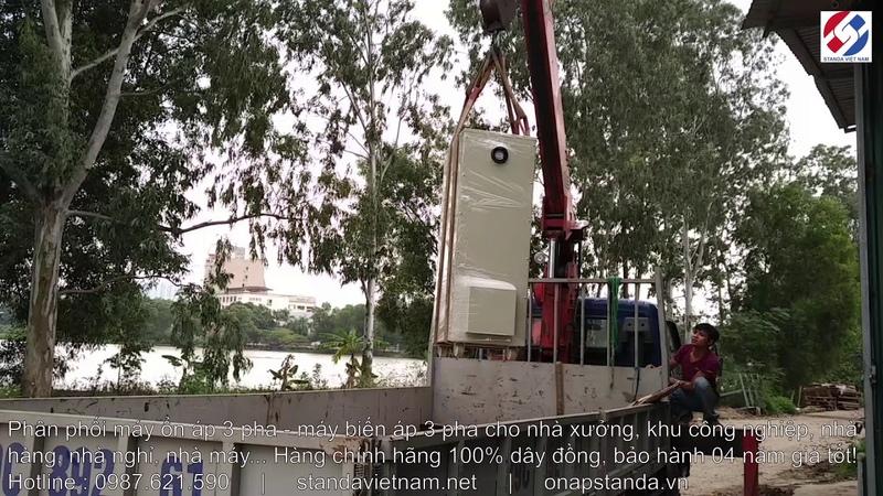 Lên Đường Ổn Áp STANDA 200KVA 200KW 3 Pha Cho Nhà Máy Tại KCN Quế Võ