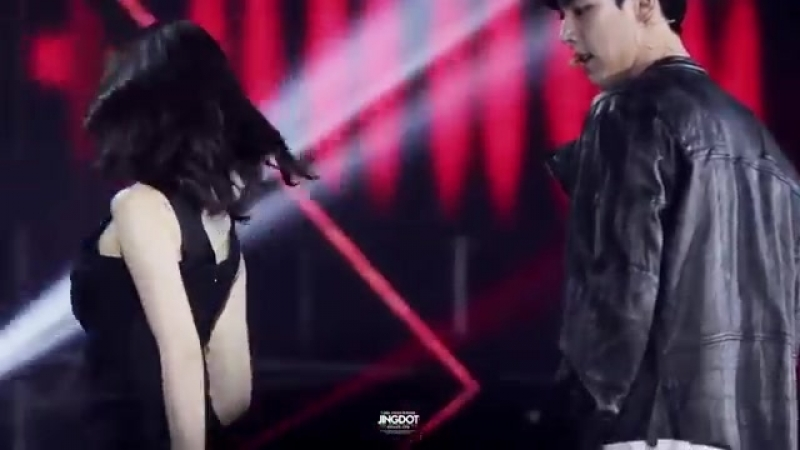 [v-s.mobi]140622 - Trouble Maker - Jiyeon (T-ARA) ft Jeong Wook SBS The Show.mp4