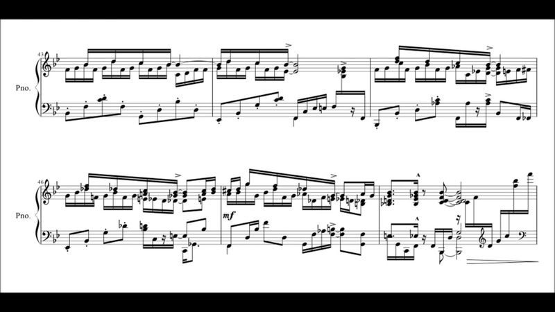 Kapustin No 6 Pastoral from 8 Concert Etudes for Piano, Op 40