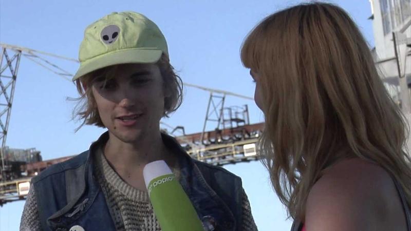 Pop10 @ Melt 2013 - Susi im Interview mit Diiv