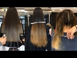 Amazing Haircut Designs and Hairstyles ❀ Extreme Long Hair Cutting Transformation