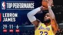 LeBron James SHINES Against Houston   February 21, 2019 NBANews NBA Lakers LeBronJames
