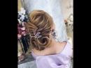 Воздушная причёска на среднюю длину волос