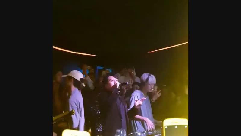 (12.12.18) Сынни в клубе Burning Sun в Сеуле