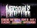 Necrovile LIVE @ Exhume The Metal 2 - Day 1 - Zinsholz Ostfildern - 27.01.2017 - Dani Zed