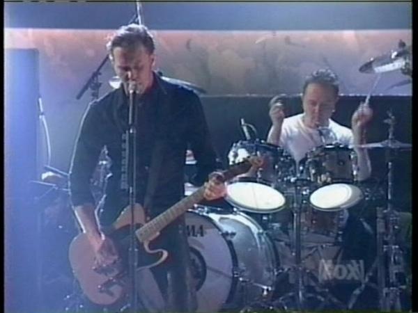Metallica - The Unforgiven II - Live Debut at The Billboard Awards (1997) [TV Broadcast]