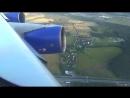 Взлет из Внуково Boeing 747 400 Transaero take off from Vnukovo