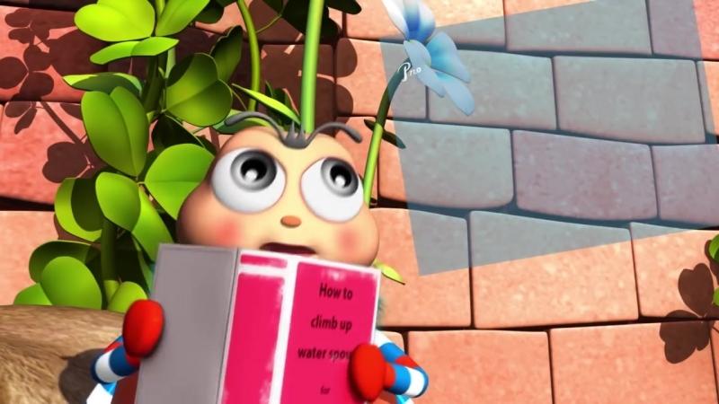 Itsy Bitsy Spider Nursery Rhymes by LittleBabyBum!