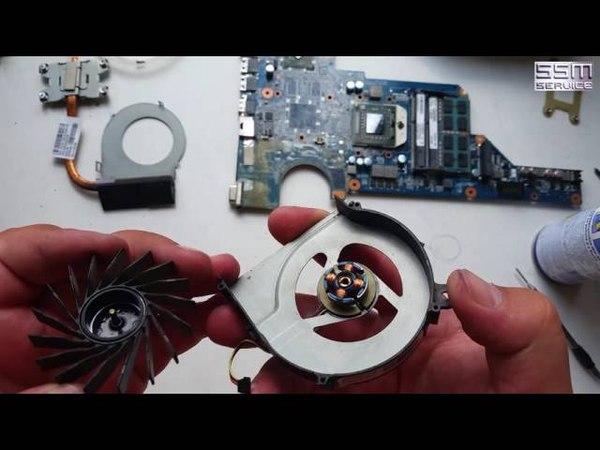 Как почистить от пыли ноутбук HP Pavilion G7 и поменять в нём термопасту