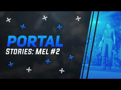Забытые истории Aperture 2   Бесконечность - не предел! Или предел   Portal Stories Mel