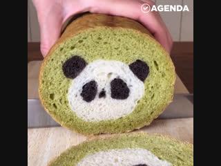 Необыкновенный хлеб с рисунками