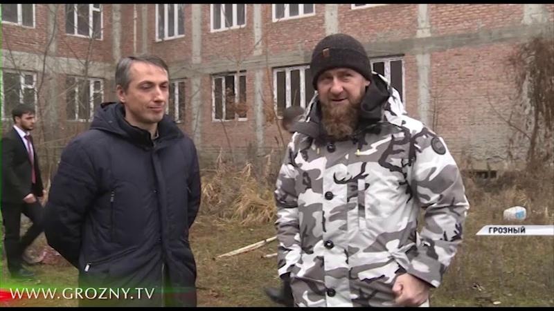Рамзан Кадыров посетил готовящиеся к открытию в регионе лечебные учреждения