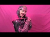 9° VIDEO - Girl Gets Slimed And Gunged (Messy Fun Girl)
